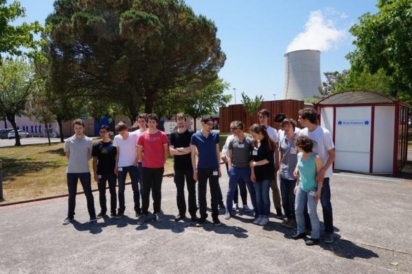 Sortie Golflech 3 - projet Math-Physique 2015