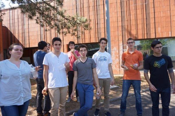 Sortie Golflech 6 - projet Math-Physique 2015