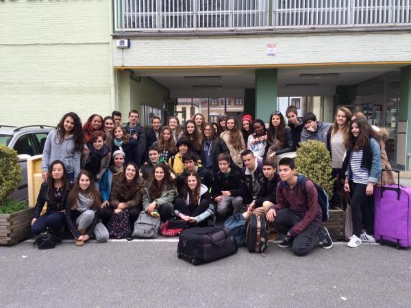 Echange Lycée Palissy - Irun 1